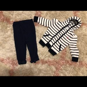 Ralph Lauren Sweater and leggings with bow back